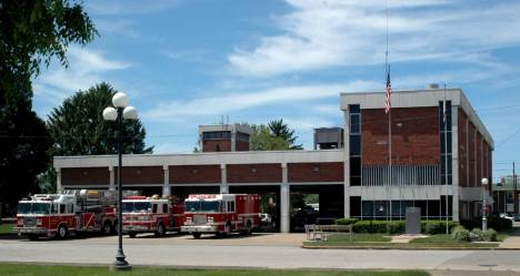 Wv firefighters huntington fire department station and for Department of motor vehicles charleston west virginia